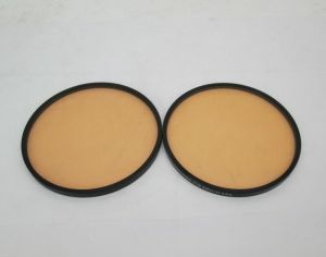 LOT OF 2 TIFFEN 4 1/2 CORAL 1/4 & 1/8 CAMERA GLASS FILTER