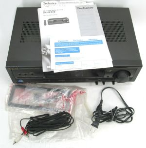 Technics SA-EX110 2-Channel AM/ FM AV Control Stereo Receiver