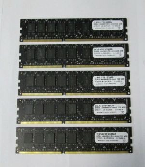 A-5 MICRON 4GB PC3-10600 DDR3 -1333MHZ MEMORY MODEL D3/51272133MB