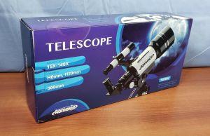 AOMEKIE AO2001 Astronomical Telescope Terrestrial Space Finderscope 15X-140X