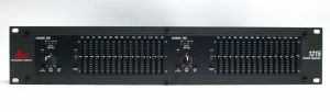 DBX 1215 12 Series Dual 15 Band Graphic Equalizer