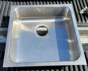"Just US-2020 20"" Stainless Steel Sink Undermount 18"" x 18"" Basin"
