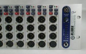 KLARK TEKNIK DN1248 PLUS 12 CH MICROPHONE SPLITTER