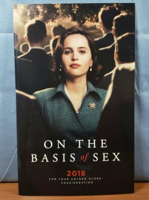 ON THE BASIS OF SEX Movie PROMO Music Sheet FYC Best Original Score Song SIGNED