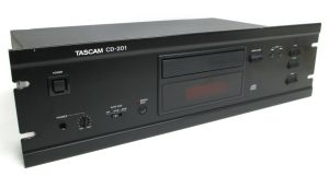 Rack Mountable TASCAM CD-201 Professional Studio CD Player