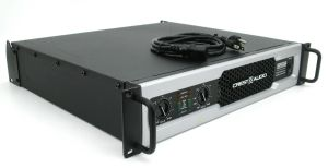 Rackmountable Crest Audio CD2000 CD-2000 2000 Watt Pro Power Amplifier Amp