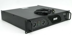 Rackmountable Crest Audio LT1500 LT 1500 750 Watt Power Amplifier Amp #3
