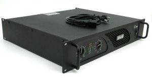 Rackmountable Crest Audio LT1500 LT 1500 750 Watt Power Amplifier Amp