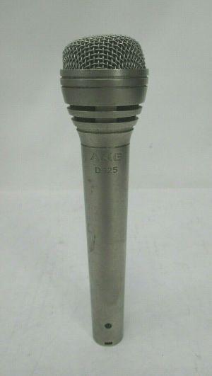 VINTAGE AKG D125 DYNAMIC CARDIOD MICROPHONE