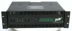 Rack Mount BGW Millennium Series 1 Power Amplifier 160 Watts /CH @ 8 Ohms