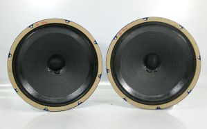 "Weber DR12+ DR12 12"" inch Pair of Blue Speakers Subwoofers 12790309"