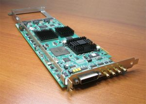 AJA Kona 3 SD/HD/2K DVI HD-SDI PCIe PCI Express Video Cap Card P/N 102058-05