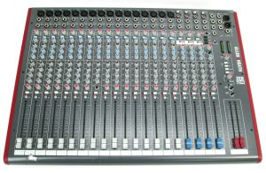 ALLEN & HEATH ZED-24 Desktop USB 24-Channel Live Recording Mixer