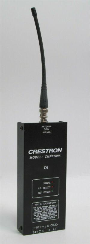 Crestron CNRFGWA 1 Way RF Wireless Gateway Receiver w/ Antenna