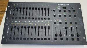 Elation Scene Setter 24-ch DMX Dimming Lighting Console CLEAN!