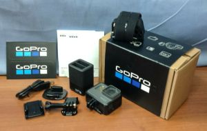 GoPro Hero5 Black Ultra HD 4k Video Action Camera + Battery + Charging USB Cable