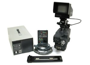 Hitachi Z-4000W Video Camera Triax BCTV Studio Package GM-51 Viewfinder RC-Z3 #3