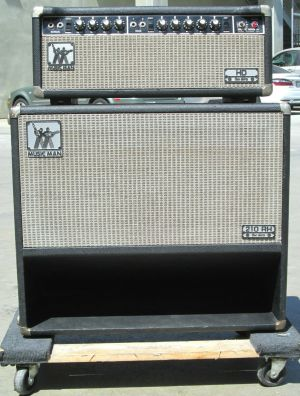 Musicman HD 130 Amplifier Music man 210 RH 130 One Thirty Speaker Enclosure
