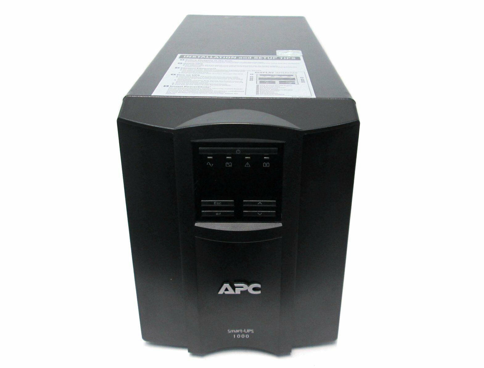 This is an AJC Brand Replacement APC Smart-UPS SMT SMT1000 12V 12Ah UPS Battery