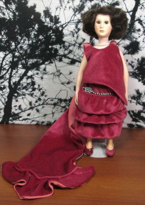 "Suzanne Gibson 1985 Grace Coolidge First Ladies 12"" Inch Doll Signature Edition"