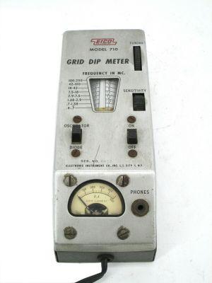 Vintage Eico 710 Grip Dip Meter Electronic Instrument