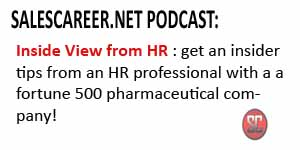 SalesCareer.Net Podcast:  An Inside View From HR!