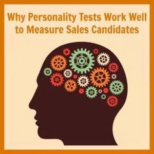 Why Sales Personality Test Work