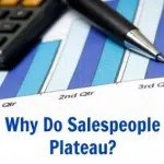 Why Do Salespeople Plateau?