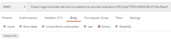 Add binary data in Bulk API - SalesforceCodex