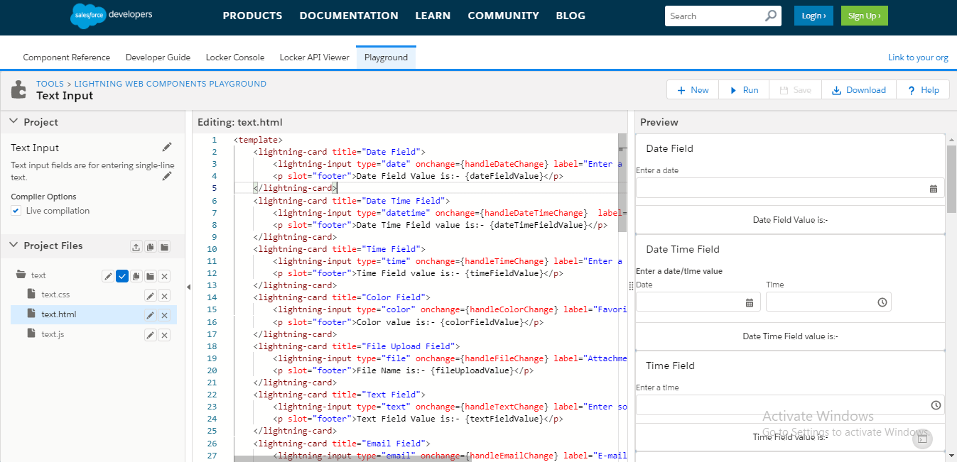 How to get field value of lightning-input in Lightning Web Component using onchange event?