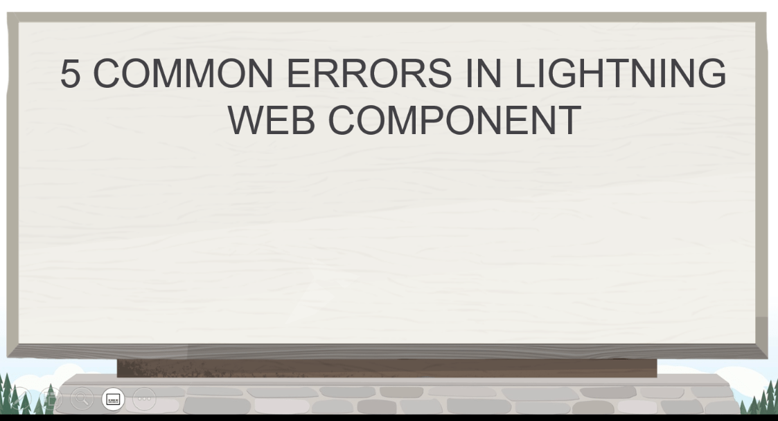 5 Common Errors in Lightning Web Component