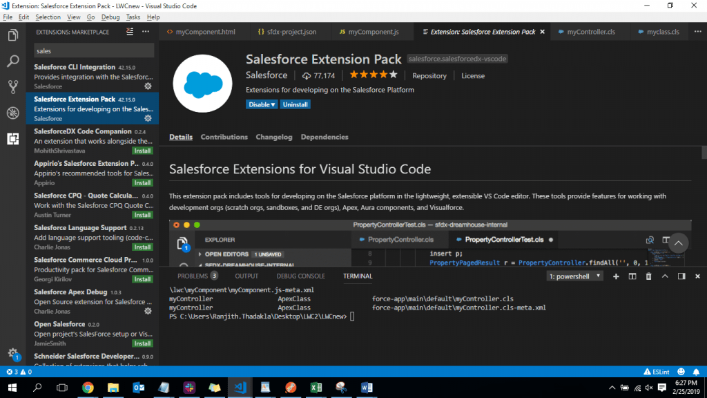 Connecting Sandbox Dev to Visual Studio code For