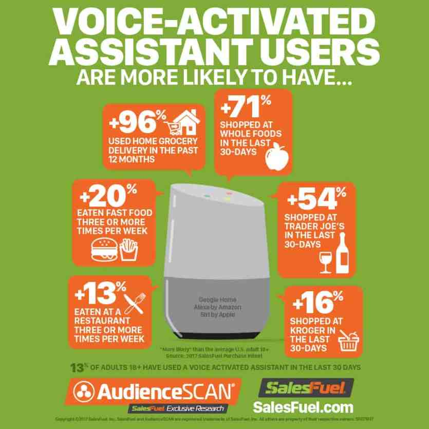 Voice-activated Assistant Users