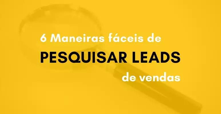 pesquisar leads