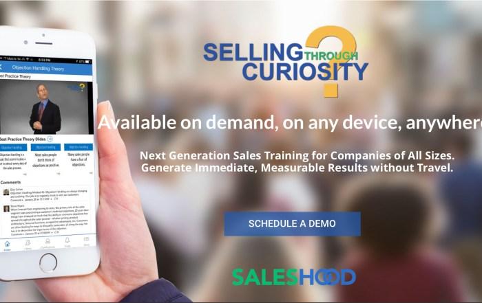 selling through curiosity