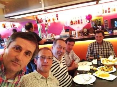 Diego, Miguel Ángel, Tino, Fito y Fernando