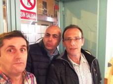 Diego, Pedro y Miguel. Y efectivamente, no hay salida
