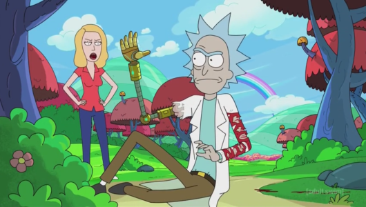 Rick and Beth in Froopyland
