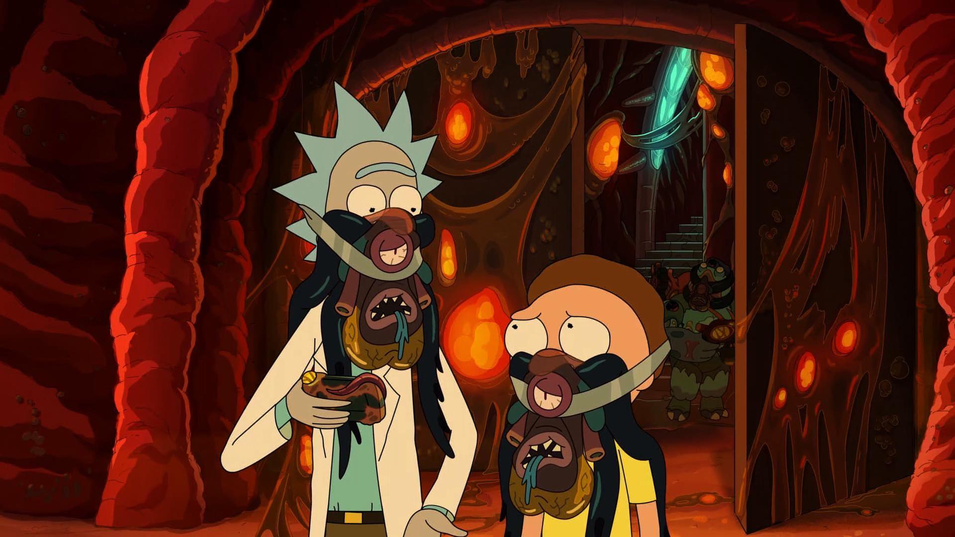 Rick and Morty Glory to Gorzo