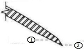 185-mm (7.25-in.) and 230-mm (9-in.) blade spacing