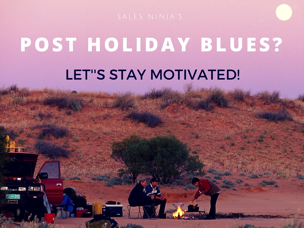 Post-holidays blues? Let's stay motivated!