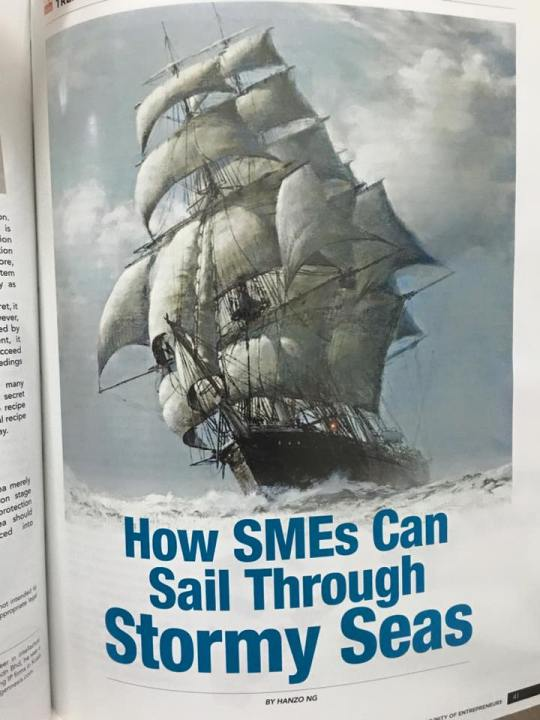 How SMEs Can Sail Through Stormy Sea!