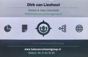 headhunters sales Dirk van Lieshout