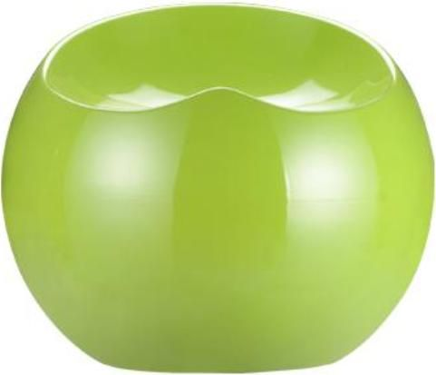 Zuo Modern 155005 Drop Stool in Green Contemporary