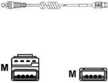 Honeywell Metrologic 53-53213B-N-3 USB Full Speed Cable