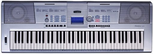 Yamaha DGX205 Remanufactured Piano Size Touch Sensitive 76 Keys With Built In Recorder Pitch
