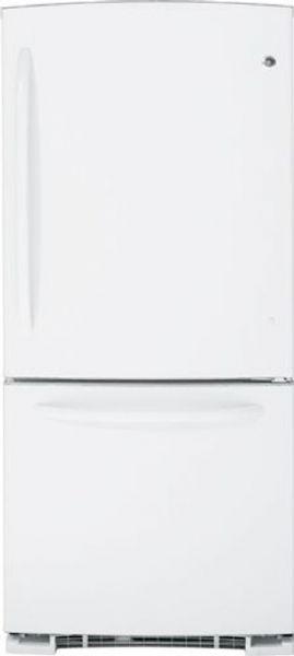 GE General Electric GDSC0KCXWW Bottom-Freezer Refrigerator