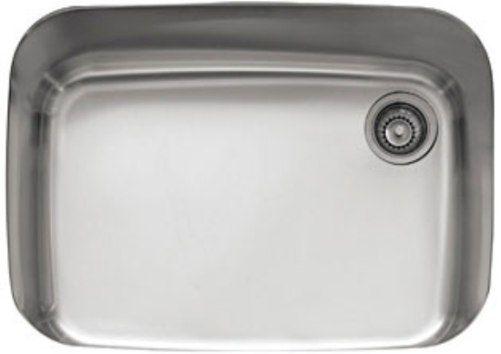 27 kitchen sink outdoor island franke gnx11028 europro series single bowl undermount stainless steel 18 gauge