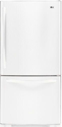 LG LDC22720SW Bottom-Freezer Refrigerator with Swing