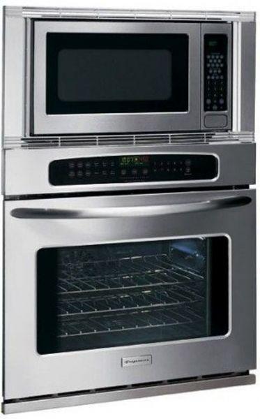 frigidaire pleb27m9ec professional series microwave combination wall oven 2 0 cu ft capacity microwave oven 3 5 cu